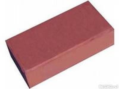 Брусчатка тротуарная П 21.11.6 мац (кирпичик) красная